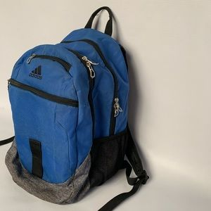 adidas Bags - Adidas blue backpack